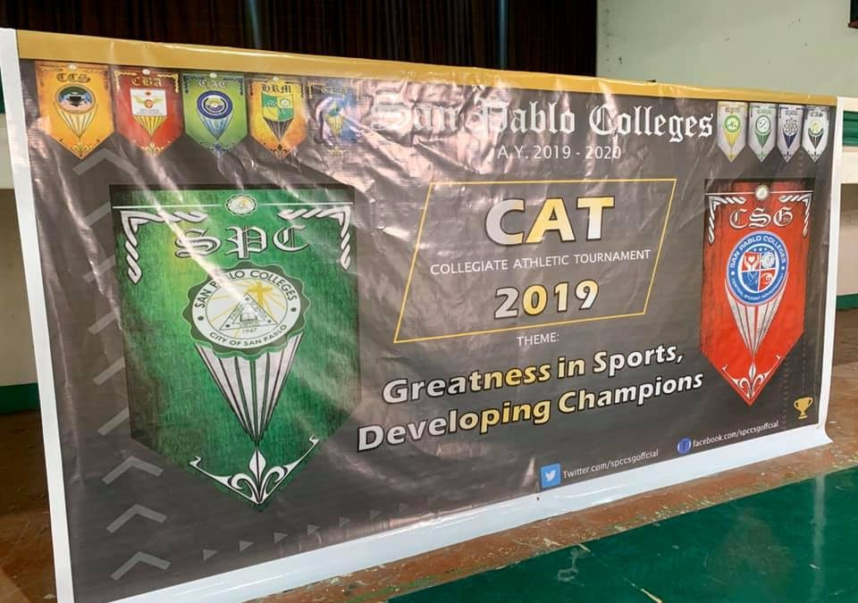 San Pablo Colleges Central Student Government holds the annual Sports Fest from November 18-21.