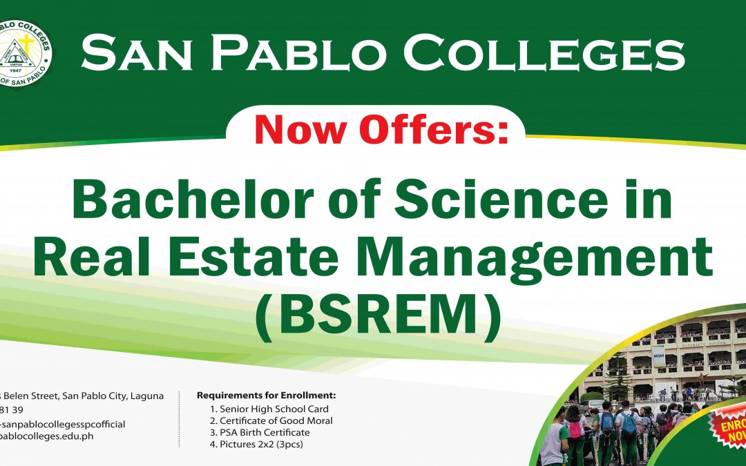 SPC Now Offers Bachelor of Science in Real Estate Management (BSREM)