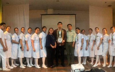 """Nursing Profession: Leads you here ang there"" with Dr. Nicolo Andrei A. Anonuevo, RN, PHDN."