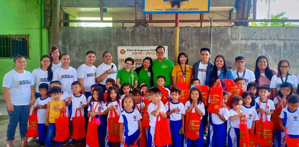 Christmas season continues with the gift giving program spearheaded by San Pablo Colleges – College of Arts and Sciences