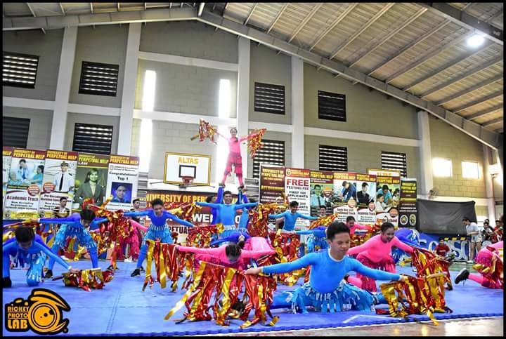 Ravens Dance Squad Competed at Perpetual Help Dalta- Las Piñas.