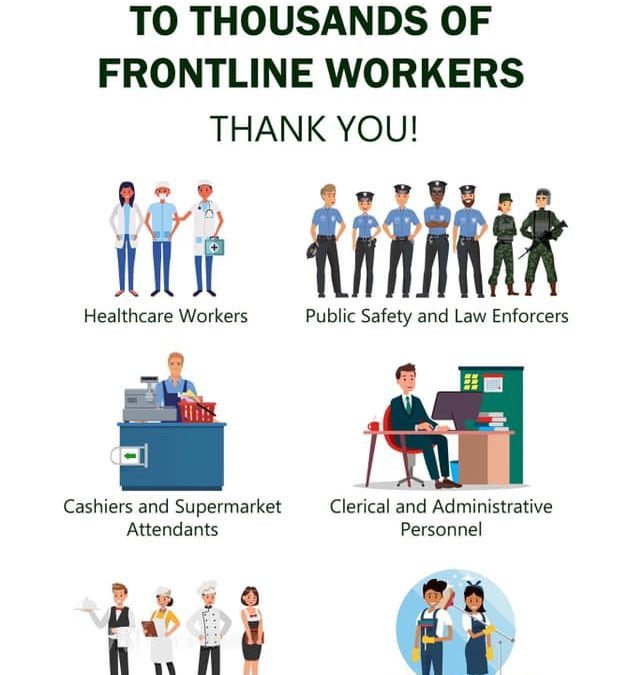 San Pablo Colleges community extends heartfelt gratitude to all the frontline workers against the COVID-19 pandemic.