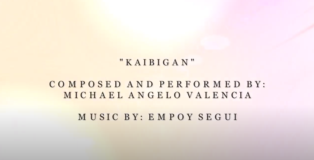 """As part of #SanPabloColleges – #SPCCares Campaign, we give you an original song entitled """"Kaibigan"""" by @Michael Angelo Hernandez Valencia and music by Empoy Segui."""