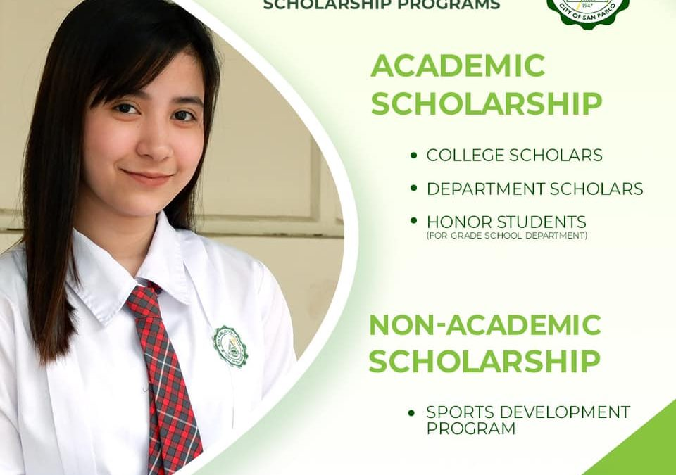 Aspiring SPCians, here's your chance to be part of the growing #SanPabloColleges community.