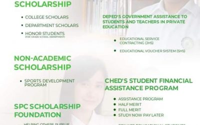 San Pablo Colleges community.Avail our DepEd and CHED student financial assistance programs!