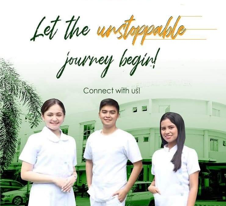 Be one of the unstoppable SPCians.Be part of:College of NursingCollege of Physical TherapyCollege of Radiologic Technology.