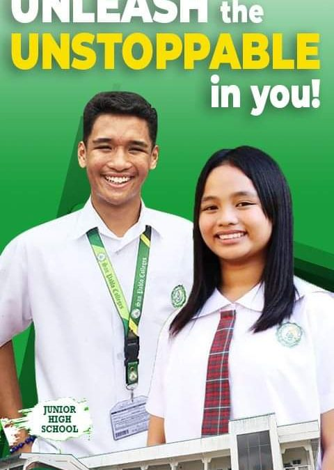 Be one of the unstoppable SPCians.Be part of the Junior High School department.Be part of #SanPabloColleges community.