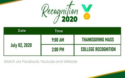 The much awaited recognition 2020