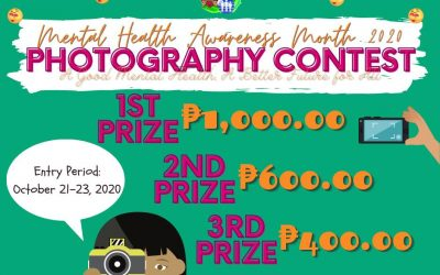 "Photography Contest: ""a good mental health, a better future for all"""