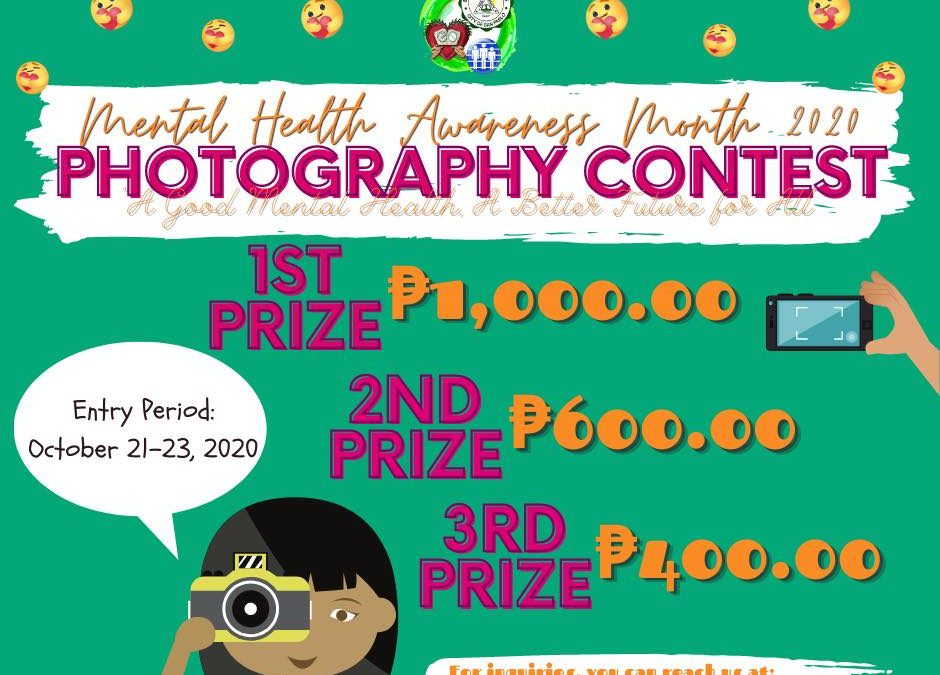 """Photography Contest: """"a good mental health, a better future for all"""""""