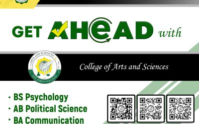 Bringing you closer to a brighter future with San Pablo Colleges College Department – College of Arts & Science