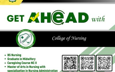 Bringing you closer to a brighter future with San Pablo Colleges College Department – College of Nursing