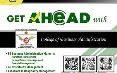 Bringing you closer to a brighter future with San Pablo Colleges College Department – College of Business Administration