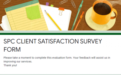 SPC CLIENT SATISFACTION SURVEY FORM